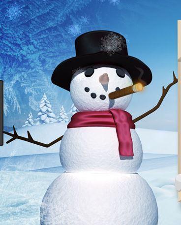 snowmanwithcigar